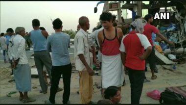 Uttar Pradesh: Bus Rams Into Truck on Agra-Lucknow Highway, 5 Killed