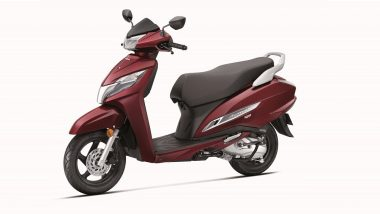 Honda Activa 125 FI BS6 Launching Today in India; Watch LIVE Streaming of Honda's First BS6 Compliant Scooter Launch Event