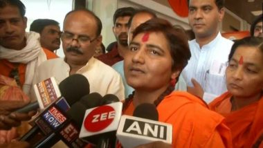 Pragya Thakur Blames Opposition for Deaths of BJP Leaders Arun Jaitley and Sushma Swaraj, Says Party Is Facing a Bad Time and Is Under Evil Spell; Watch Video