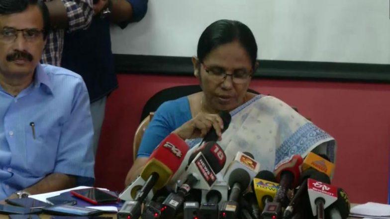 Kerala Nipah Virus: 5 in Isolation, 311 Under Observation, Says Health Minister K K Shailaja