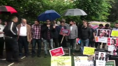 Kashmiri Diaspora Stages Protest Outside Pakistan High Commission in London Against Pakistan's Atrocities in PoK