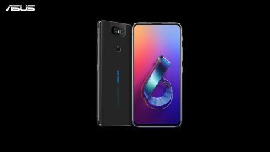 Asus 6Z Flagship Smartphone With Flip Camera First Sale Today at 12PM Via Flipkart