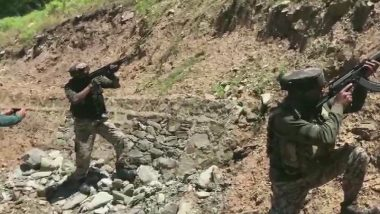 Jammu And Kashmir: 1 Terrorist Gunned Down by Security Forces in Baramulla Encounter