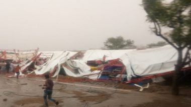 Rajasthan: 14 Dead, 24 Injured After 'Pandaal' Collapses in Barmer; Rescue Operations Underway