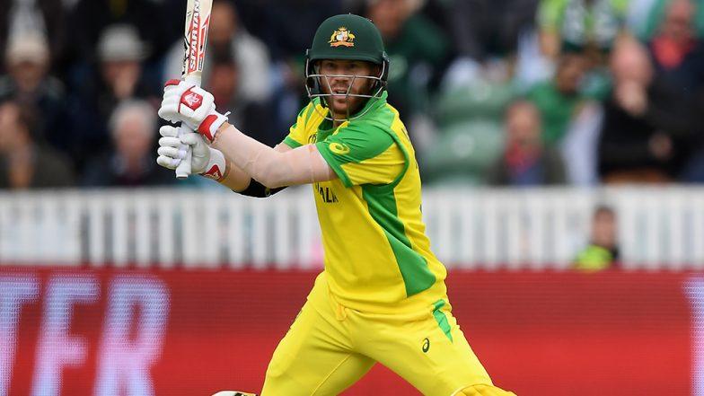 ICC Cricket World Cup 2019: David Warner Joins Sachin Tendulkar in Elite List of 500 Run-Getters in the Tournament