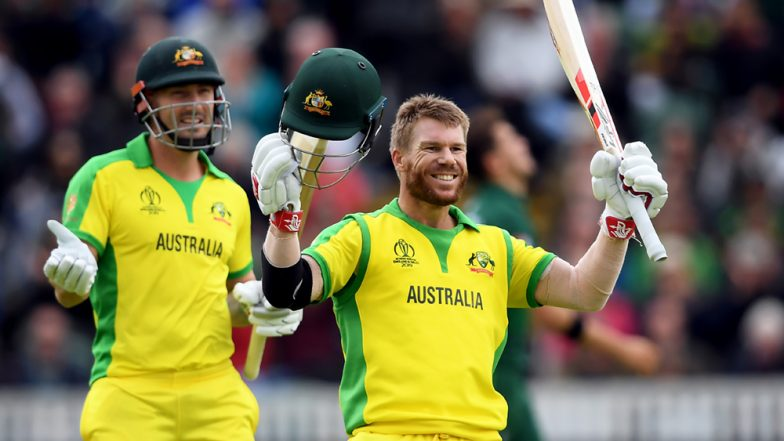 David Warner Makes a Young Fan's Day by Giving Him His Player of the Match Award After Scoring a Comeback Century in AUS vs PAK CWC19 Game; Watch Video
