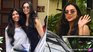 Deepika Padukone's Happy and Gorgeous Pics Outside a Salon Will Make You Want To Know Her 'Khubsurati Ka Raaz!'
