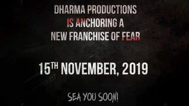 Dharma Productions Announces a Fear Franchise For Horror-Thrill Film Seekers