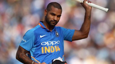 Injured Shikhar Dhawan Hits the Gym To Recover And Get Back In Action During ICC Cricket World Cup 2019