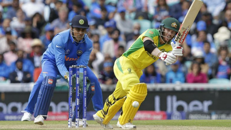 MS Dhoni Removes 'Balidaan Badge' From Wicket-Keeping Gloves,  Follows ICC's Regulation During India vs Australia CWC 2019 Match