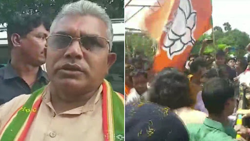 BJP Workers, West Bengal Police Clash in South Dinajpur; Several Injured, Section 144 Imposed