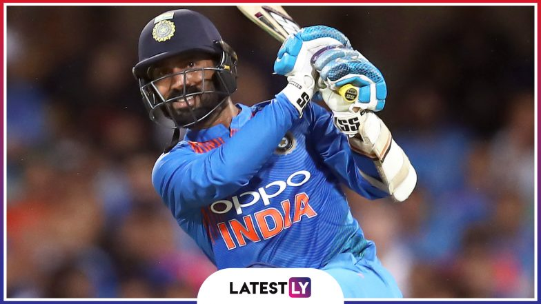 Dinesh Karthik Stats and Records: A Look at Profile of Indian Team Right-Handed Batsman Ahead of IND vs SA ICC Cricket World Cup 2019 Match