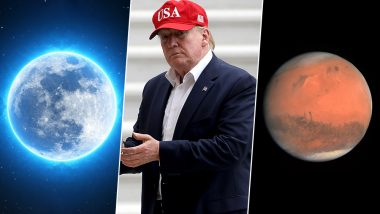 Donald Trump Hits Out at NASA Saying Moon is a Part of Mars; Twitter Gives Him Some Astronomy Lessons