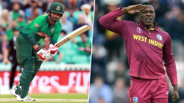 West Indies vs Bangladesh Dream11 Team Predictions: Best Picks for All-Rounders, Batsmen, Bowlers & Wicket-Keepers for WI vs BAN in ICC Cricket World Cup 2019 Match 23