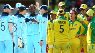 England vs Australia Betting Odds: Free Bet Odds, Predictions and Favourites During ENG vs AUS in ICC Cricket World Cup 2019 Match 32