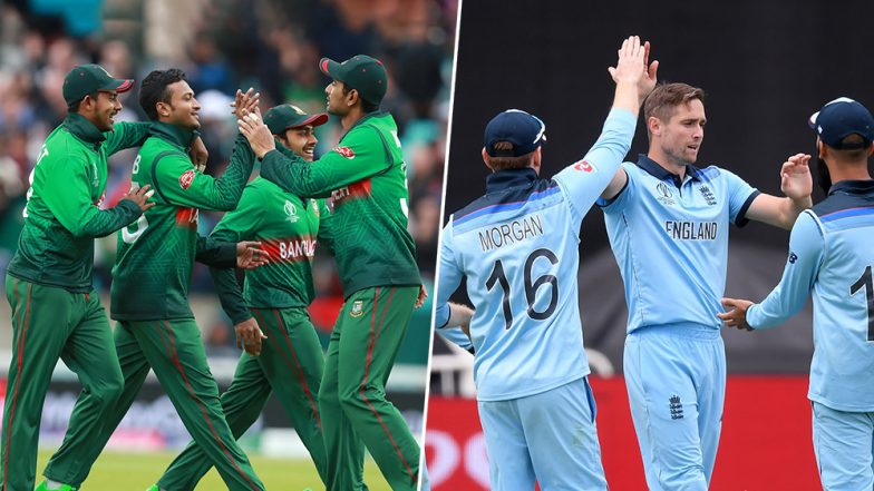 England vs Bangladesh ICC Cricket World Cup 2019 Weather Report: Check Out the Rain Forecast and Pitch Report of Sophia Gardens in Cardiff