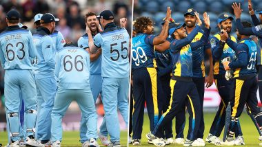 ENG vs SL Head-to-Head Record: Ahead of ICC CWC 2019 Clash, Here Are Match Results of Last 5 England vs Sri Lanka Encounters!