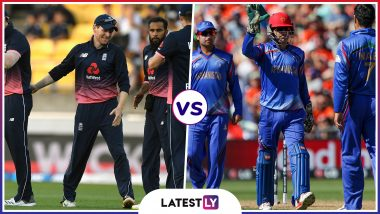 ENG vs AFG Head-to-Head Record: Ahead of ICC CWC 2019 Clash, Here Are Match Results of Last England vs Afghanistan Encounters!
