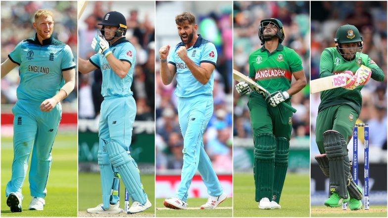 ENG vs BAN, ICC Cricket World Cup 2019 Match 12, Key Players: Ben Stokes, Shakib Al Hasan, Liam Plunkett and Other Cricketers to Watch Out for at Sophia Gardens