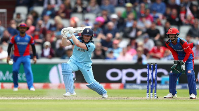 Eoin Morgan Hits Fourth Fastest Century in World Cup History, Reaches Hundred off Just 57 Balls Against Afghanistan in CWC19 Match