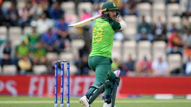 Faf du Plessis & Co.'s Keenness to Play IPL Left Cricket South Africa Helpless in ICC Cricket World Cup 2019