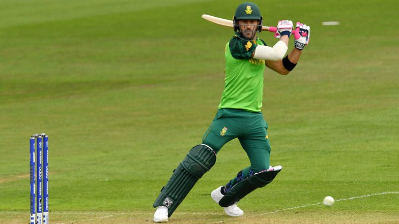 IND vs SA, ICC CWC 2019 Toss Report & Playing XI: South Africa Wins the Toss, Elects to Bat First Against India