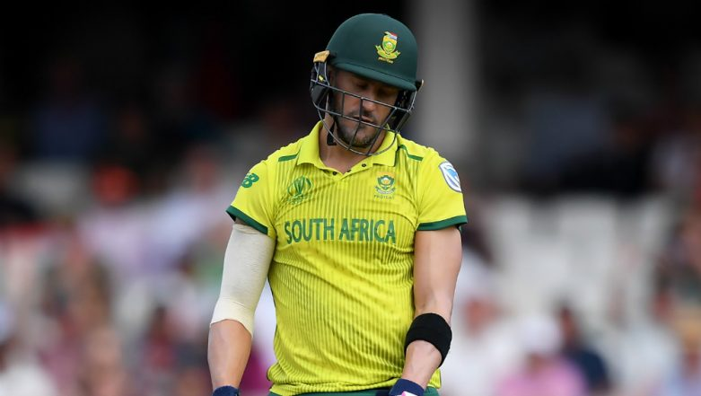 Pakistan vs South Africa: Loss to Pak Borderline Embarrassing; Our Show in CWC 2019 Mediocre, Says Faf du Plessis