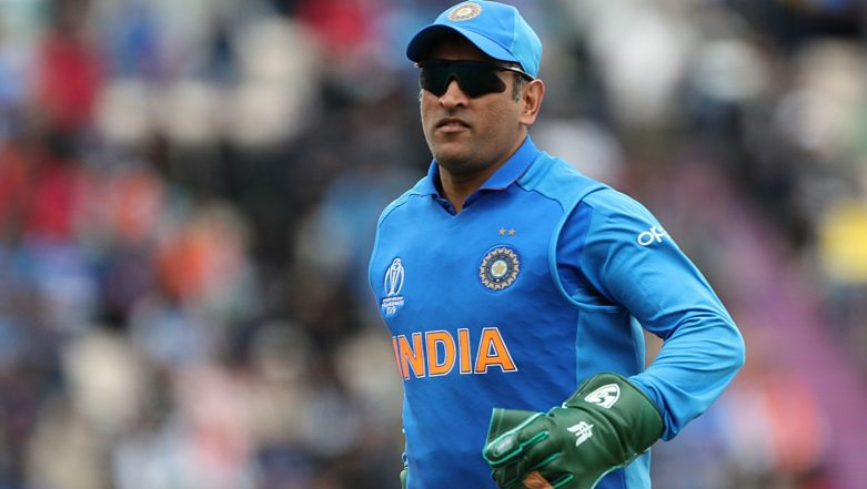MS Dhoni Prohibited from Using Army Insignia on Gloves During Cricket World Cup 2019 by ICC