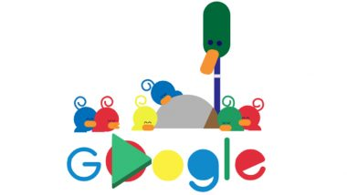 Father's Day 2019 In Austria: Google Marks The Day For Dads With an Adorable Doodle Depicting Paternal Care