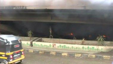 Borivali: Abandoned Vehicles Parked Under Bridge Catch Fire