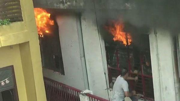 Fire Breaks Out in Sports Goods Factory in Meerut, Uttar Pradesh