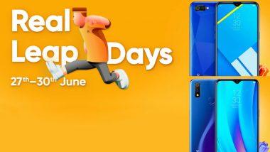 Realme Leap Days Sale 2019: Discounts on Realme 2 Pro, Realme C1, Realme U1 Smartphones
