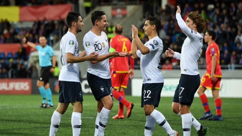 Euro 2020 Qualifiers: Belgium, Germany Win Big; France Rebound by Beating Andorra