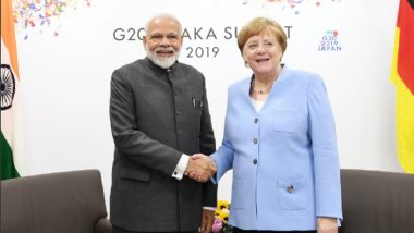 Angela Merkel Meets PM Narendra Modi at G20 Summit Sidelines, Gives Epic Reaction on Camera Amid Talks