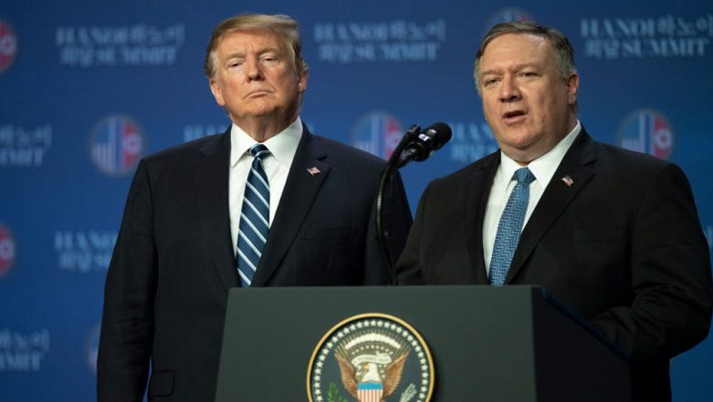 Mike Pompeo to Accompany Donald Trump to Japan, South Korea for Denuclearisation Talks