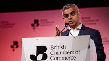 London Mayor Sadiq Khan Slams Donald Trump, Says 'He Is Like a 20th-Century Fascist'
