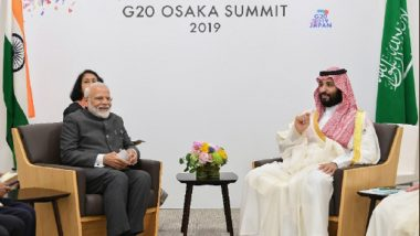 PM Narendra Modi Meets Saudi Crown Prince Mohammed Bin Salman on G20 Summit Sidelines