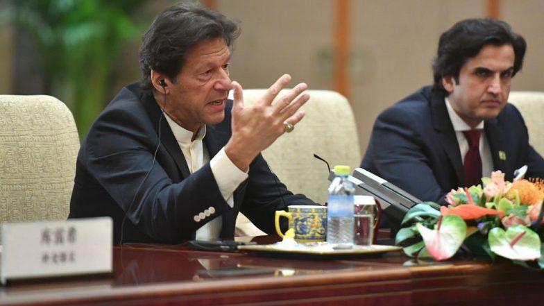 Imran Khan US Visit: Pro-Balochistan Activists Disrupt Pakistan PM's Speech, Raise Slogans Against Human Rights Abuses in the Region