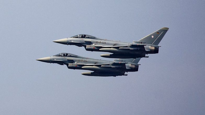 Germany: 2 Eurofighter Jets Collide Mid-Air Near Laage Military Base, Pilot Dies