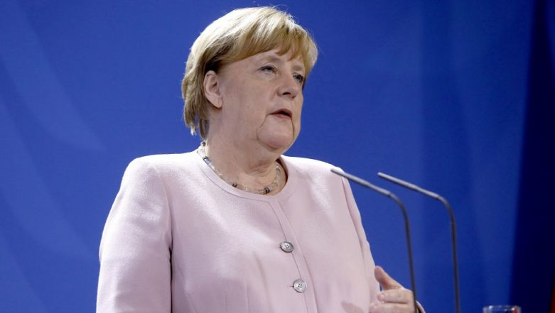 Angela Merkel Trembles During Ceremony, Raises Health Concerns