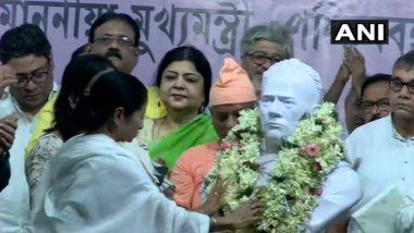 Kolkata: Mamata Banerjee to Unveil Ishwar Chandra Vidyasagar's Statue Vandalised in Political Clash Last Month