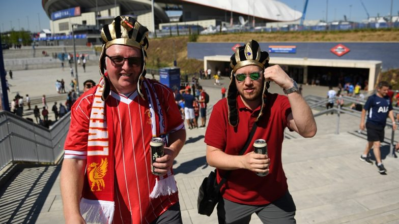 Liverpool vs Tottenham, UEFA Champions League 2019 Final: English Fans Swarm Madrid Ahead of the Match