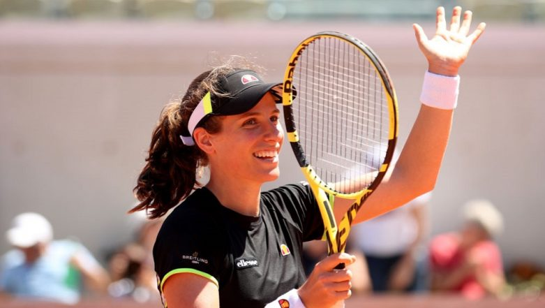 French Open 2019: Johanna Konta Secures Maiden Spot in Quarter-Finals