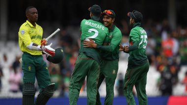 Bangladesh vs New Zealand ICC Cricket World Cup 2019 Weather Report: Check Out the Rain Forecast and Pitch Report of The Oval in London