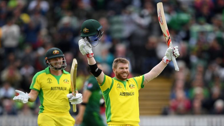 David Warner Slams Second Century of ICC Cricket World Cup 2019 During AUS vs BAN Match; Moves Up on the List of Highest Run-Scorers