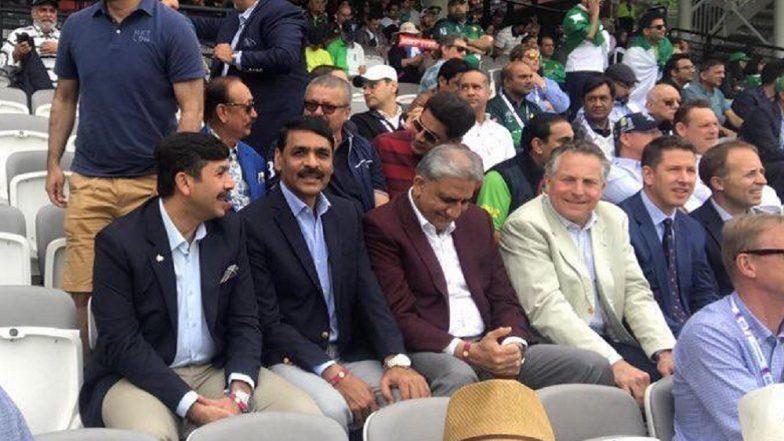 Pakistan Army Chief Qamar Javed Bajwa at Lord's to Watch PAK vs SA