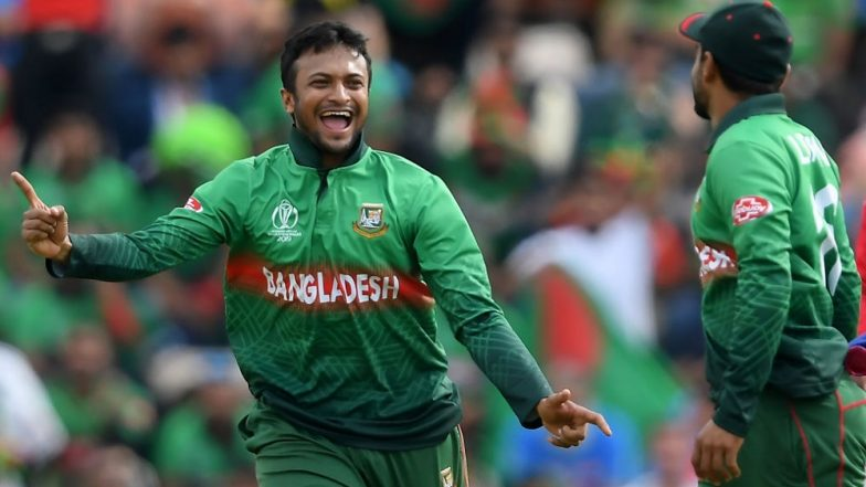 Shakib Al Hasan's Name Goes Missing from ICC's T20I Rankings After a Two Years Ban