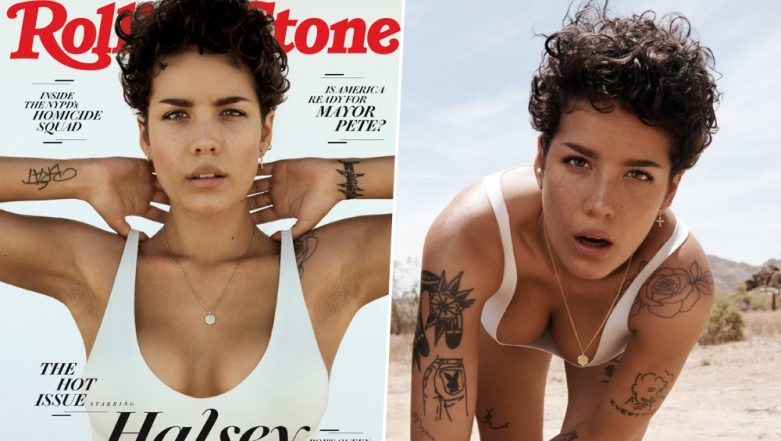Halsey Flaunts Armpit Hair Fearlessly on Rolling Stones Cover After Exploring Body-Image Issues in New Song Nightmare