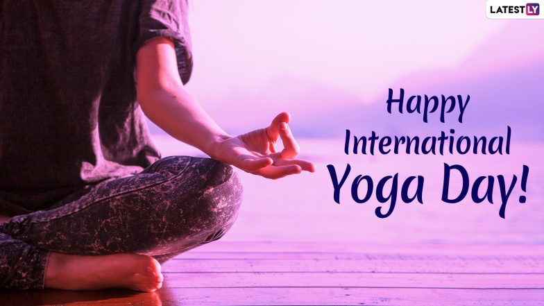 Happy Yoga Day 2019 Wishes: WhatsApp Stickers, Yoga Quotes, GIF Image Greetings, SMS, Facebook Messages to Send on International Day of Yoga
