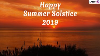 Happy Summer Solstice 2019 Wishes: On Longest Day of The Year, People Exchange First Day of Summer Greetings and Pics of Sunrise